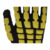 Anti-impact dots with black latex foam 13G black polyester shell industrial safety hand gloves