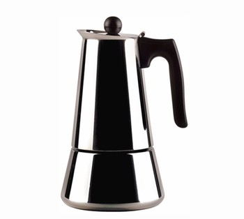 Portable 4 Cups Stainless Steel Espresso Mocha Gas Coffee Maker Pot