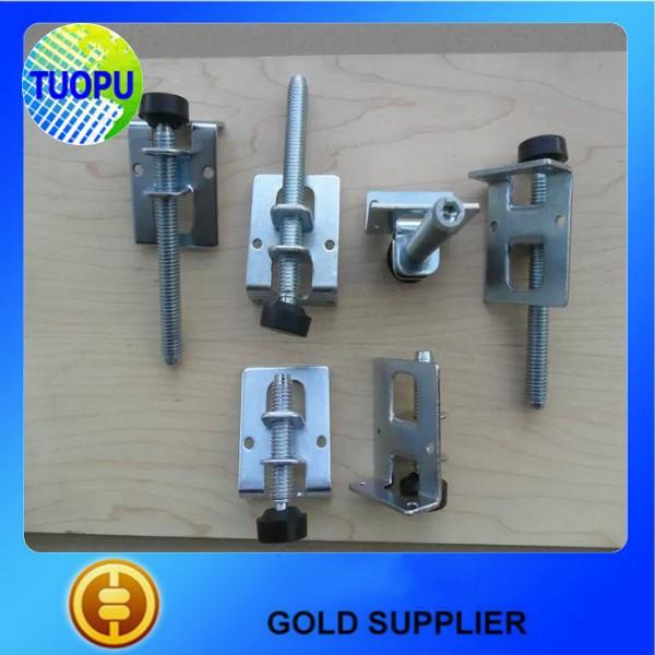 China Metal Table Slide Hardware,screen Usaged Clamp Adjustable Table  Hardware
