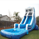 inflatable slides commercial inflatable water slide with pool for sale