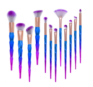 12 Pcs Professional Makeup Brushes Tool Eyebrow Eyes Eyeshadow Concealer Brush