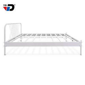 commercial roller steel factory Located in Shanghai sleeping design furniture metal cast iron antique bed