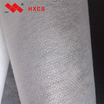 2019 Non Woven Fusible Gum Stay Nonwoven Dot Fuse Interlining For Suits