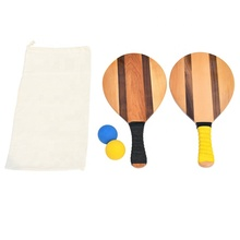 Prime Kwaliteit Massief Houten Frescobol <span class=keywords><strong>Strand</strong></span> <span class=keywords><strong>Racket</strong></span>