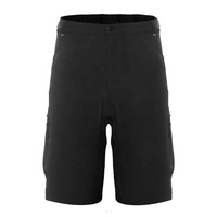 Men Mountain Bike Biking Shorts, Water Repellent MTB Shorts, Loose Fit Cycling Baggy Pants with Zip Pockets