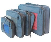 BSCI Factory Durable Luggage Organizer OEM High Quality Travel Compression Packing Cubes
