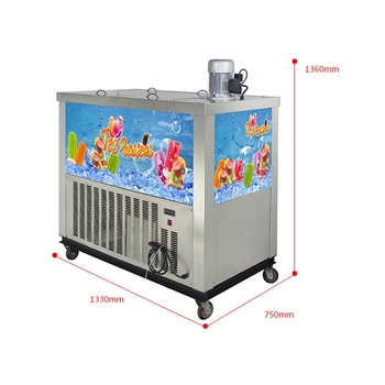 Commercial ice lolly popsicle stick machine for sale