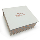 cosmetic glossy textured cardboard packaging box for personal care item