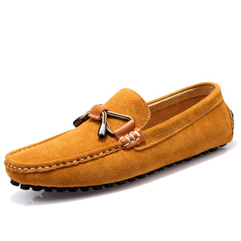 pdep men moccasin gommino flat shoes business genuine
