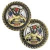 Army core values Strong loyalty duty Honor Metal Challenge Coin Casting Craft Customize Collection Souvenir