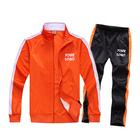 Blank Tracksuit Custom Sports Suit Set Mens Polyester Sweatsuit Team Suit for men women kids
