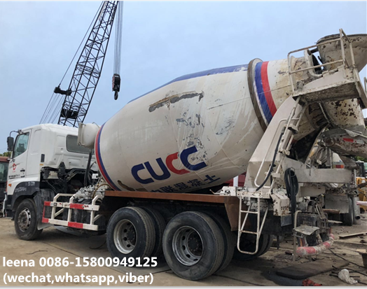 Used Hino 500 700 Cement Mixer Truck Price - Buy 9cubic Meters Concrete  Mixer Trucks For Sale In Japan,Cheap Hino 500 700 Trucks For Sale In  Shanghai
