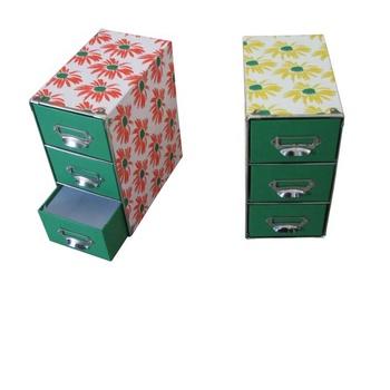 Cardboard Storage Drawer Box
