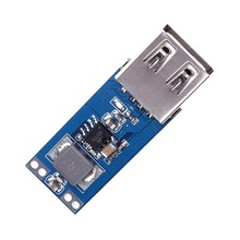 2.5V-5.5V To 5V 2A Max DC-DC USB Power Charger Mobile Step Up Boost Converter Power Supply Module