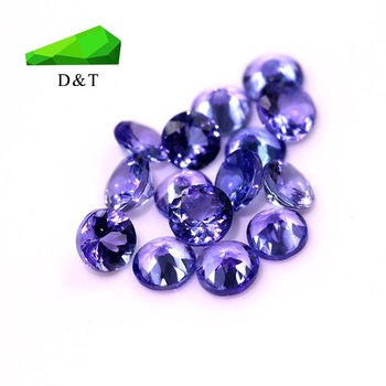 natural tanzanite round cut stone tanzanite gemstone price