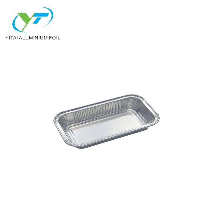 Aluminium folie container bäckerei verwenden backen loaf pan