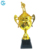 China Cugle Manufacturer Large  Gold  Metal Award Champions Trophy Cup  For Sports