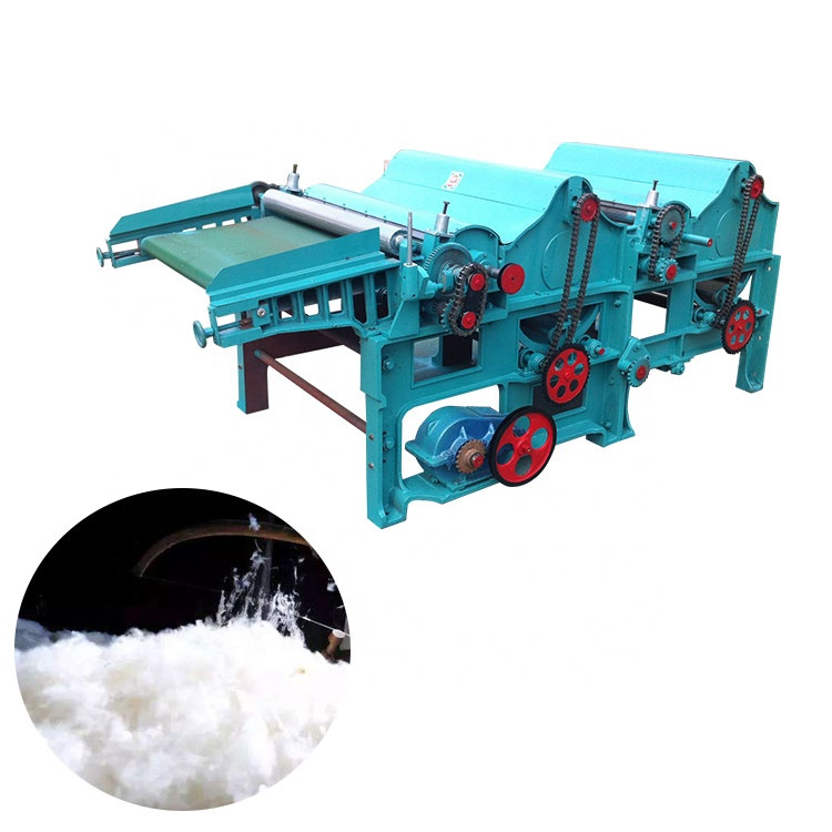 Waste Textile Scrap Opening Machine,cotton yarn making machine,waste cloth recycling machine