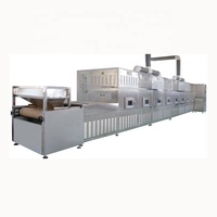 the leaves dryer tunnel drying equipment tunnel oven microwave
