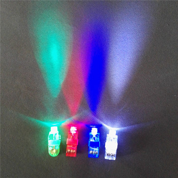 Rubber band Led flashing finger light toys