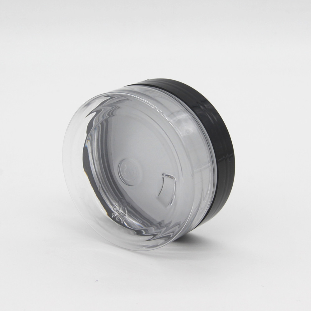 High quality empty 30ml 1oz 100g 200g 8oz 350g 750g 100g pet plastic jar for food and cosmetic packing