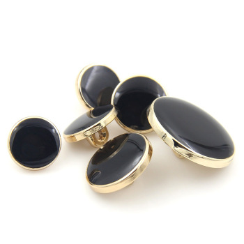 Manufacturers wholesale high-grade men's suits button black metal button coat gold button