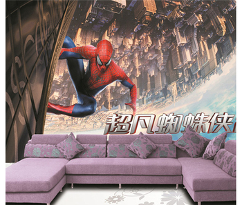 3d Cool Spider Man Children Custom Wallpaper For Kids Buy 3d Cool Spider Man Custom Wallpaperspider Man Wallpapercool Spider Man Custom Wallpaper