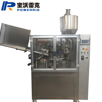 FWJ-60 Auto Aluminum Tube Filling And Sealing Machine 5-300ml For Hair Color Cream Filling
