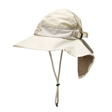 ec3be1b7 Add to Favorites · Custom summer uv protection upf 50+ flap back sun hat  with neck cover for women