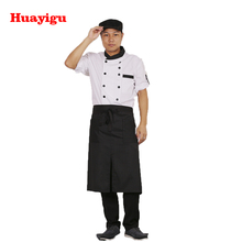 Professionele groothandel custom design hoge kwaliteit chef <span class=keywords><strong>uniform</strong></span> jas