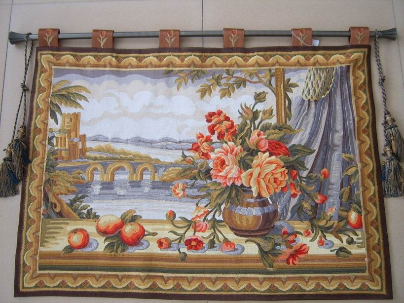 How To Hang A Tapestry On The Wall aubusson tapestry/flipped/hanging tapestry/hang picture/hang photo
