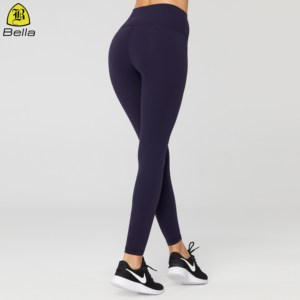 New Arrival colorful basic gym leggings women yoga pants push up