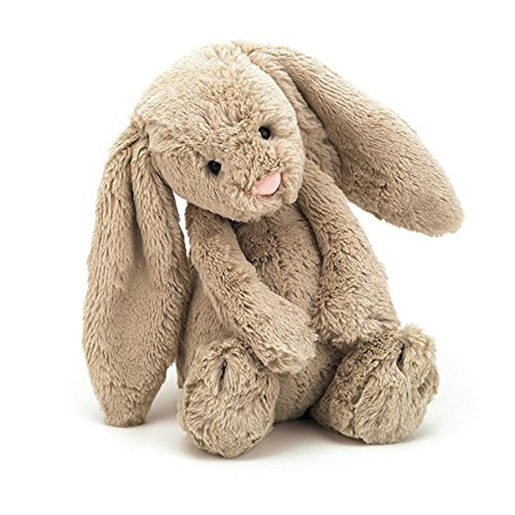 Flor Coelho Stuffed Animal Plush Toy 10-Polegadas
