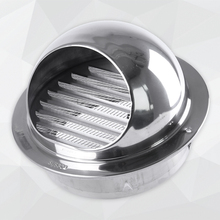 304/201 Rvs Air Vents <span class=keywords><strong>Ronde</strong></span> Grille Ventilatie Cover Muur Vent Outlet