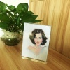 Tabletop Square Custom Acrylic Magnetic Clear Block Digital Photo Picture Photo Frame