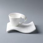 80-330ml White Ceramic Coffee Tea Cup And Saucer article Coffee Cup And Saucers With Logo Porcelain Tea Cup Saucer Spoon Set