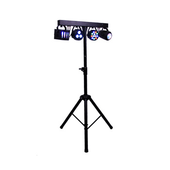 Flat Par Kits High Power 60W Led Stage Light With Light Stand DMX 512 Bag Package Set For DJ Disco
