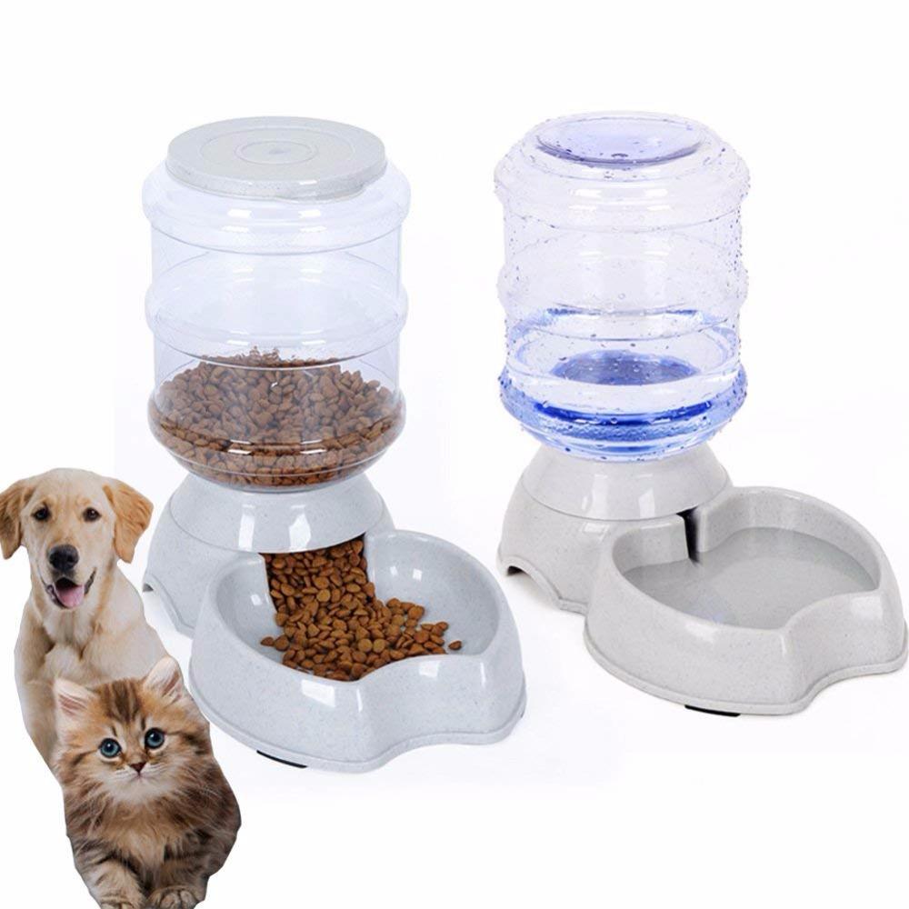 Tianyuan auto-distributeur de nourriture chien bol chien chat eau nourriture bol automatique mangeoire pour animaux