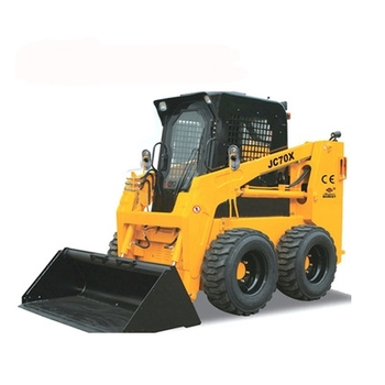 JC70 mini skid steer loader con accessori per l'agricoltura