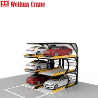Stereo Lifting Inteligent Non-avoidance Ce Approved Land Saving Automatic Car Popular Smart Parking System Auto Stacker