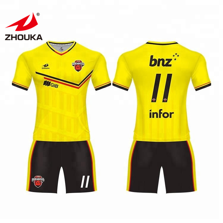 683b308272f 2019 Popular and Cool football uniforms wholesale soccer jerseys  customization for team or club