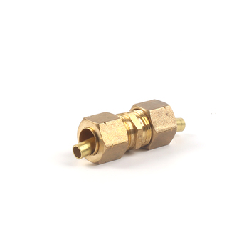 61062-8 brass tee compression coupling flare male tube copper fitting nut and union