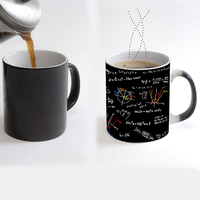 Promotional porcelain magic sublimation mug math color changing mug