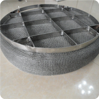 Ultra Fine High Quality 10CM Width Monel 400 Knitted Filter Wire Mesh demister pad