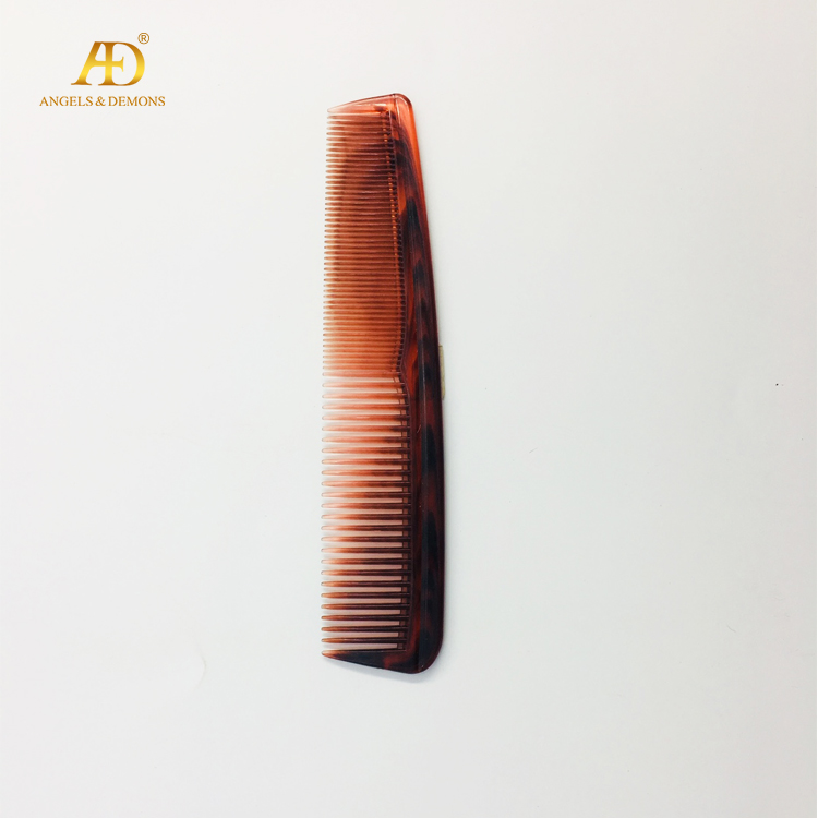 Double use factory low MOQ plastic lice straight comb brush