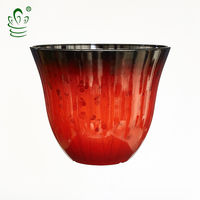 Height35cm chinese outdoor ceramic like flower pots