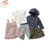 Boutique Bulk Wholesale Kids Clothing Clothes Kids 100% Cotton Imported Clothes Children Kids Clothes