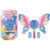 Wholesale latest hot magic giant large plastic electric toy butterfly bubble wand with light and sound
