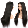 Wholesale Pre Plucked Silky Straight Virgin Brazilian Cuticle Aligned Lace Frontal Human Lace Wig