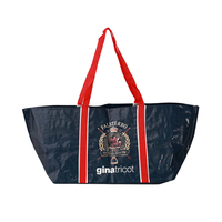 Best selling direct supply laminated pp woven shopping carrier bag